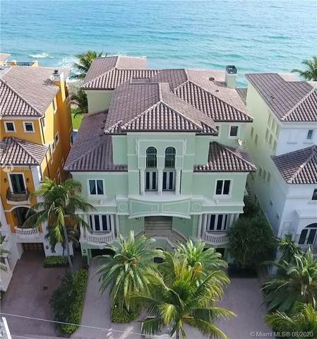 9 Ocean Pl, Highland Beach, FL 33487 (MLS #A10915603) :: The Howland Group