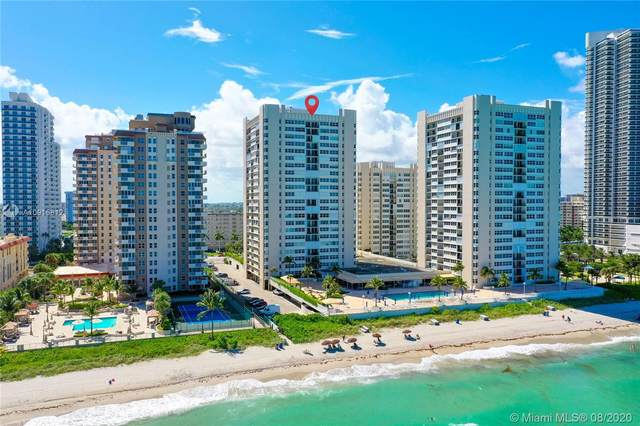 1904 S Ocean Dr #1505, Hallandale Beach, FL 33009 (MLS #A10915812) :: ONE Sotheby's International Realty