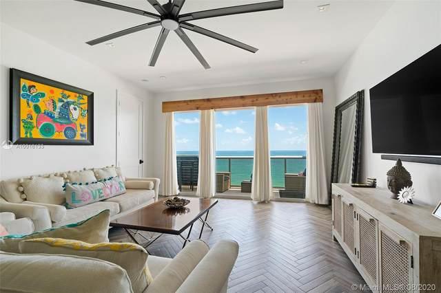 6039 Collins Ave #1725, Miami Beach, FL 33140 (MLS #A10916133) :: Berkshire Hathaway HomeServices EWM Realty