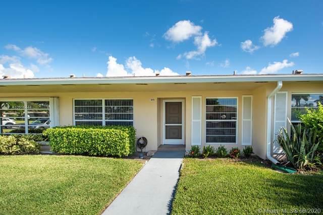 8673 Boca Dr #18, Boca Raton, FL 33433 (MLS #A10916444) :: Prestige Realty Group