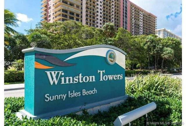 210 174th St #401, Sunny Isles Beach, FL 33160 (MLS #A10916476) :: Carole Smith Real Estate Team