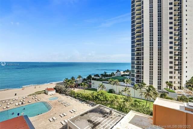 19201 Collins Ave #606, Sunny Isles Beach, FL 33160 (MLS #A10917212) :: Berkshire Hathaway HomeServices EWM Realty