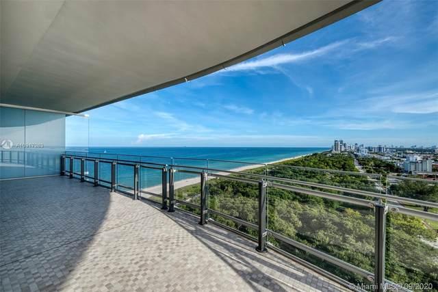 8701 Collins Ave #1505, Miami Beach, FL 33154 (MLS #A10917263) :: Berkshire Hathaway HomeServices EWM Realty