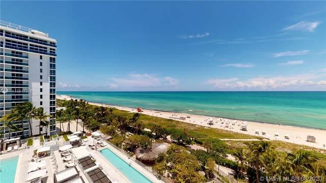 2301 Collins Ave #910, Miami Beach, FL 33139 (MLS #A10917318) :: Berkshire Hathaway HomeServices EWM Realty