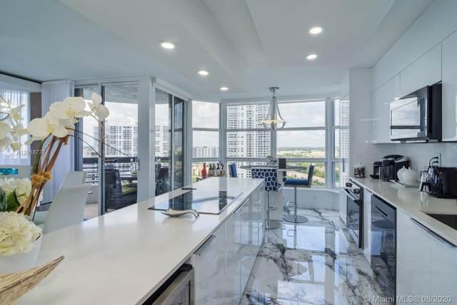 19195 Mystic Pointe Dr #2405, Aventura, FL 33180 (MLS #A10918777) :: Berkshire Hathaway HomeServices EWM Realty