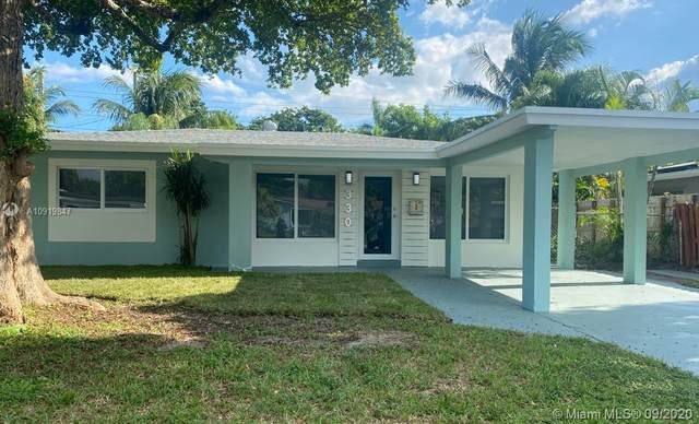 330 NW 39th St, Oakland Park, FL 33309 (MLS #A10919847) :: Cameron Scott with RE/MAX