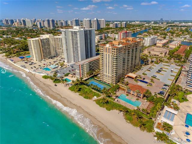 2069 S Ocean Dr Th11, Hallandale Beach, FL 33009 (MLS #A10920819) :: The Pearl Realty Group