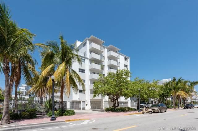 240 Collins Ave 6B, Miami Beach, FL 33139 (MLS #A10921341) :: Berkshire Hathaway HomeServices EWM Realty