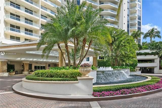 6000 Island Blvd #507, Aventura, FL 33160 (MLS #A10921944) :: Patty Accorto Team