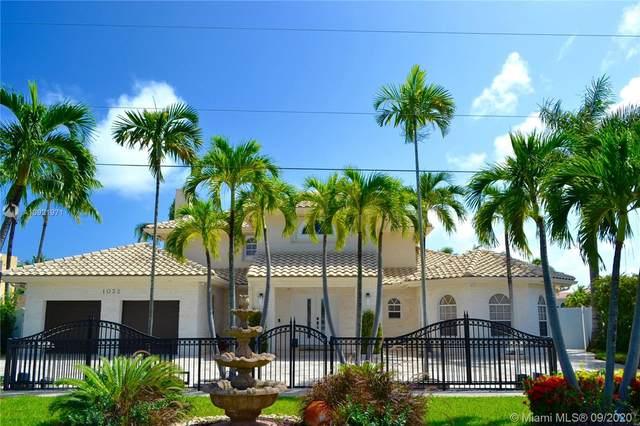 1032 Washington St, Hollywood, FL 33019 (MLS #A10921971) :: ONE | Sotheby's International Realty