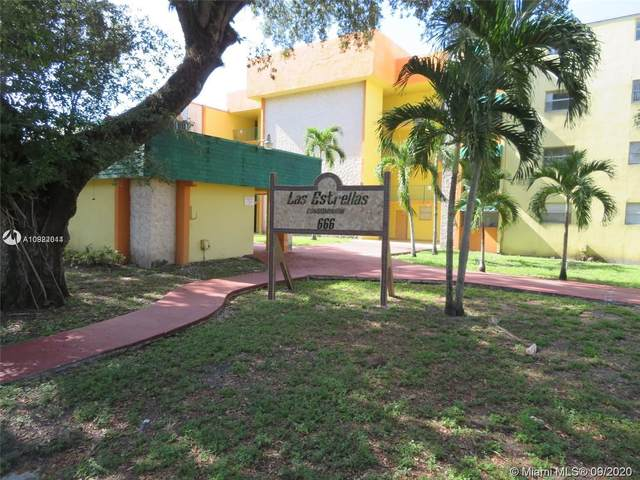 666 W 81st St #122, Hialeah, FL 33014 (MLS #A10922014) :: Ray De Leon with One Sotheby's International Realty