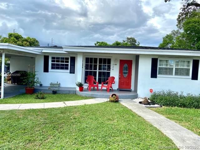 228 SW 3rd Ter, Dania Beach, FL 33004 (MLS #A10922593) :: ONE | Sotheby's International Realty