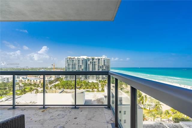 101 NE 20th St #1805, Miami Beach, FL 33139 (MLS #A10922926) :: Dalton Wade Real Estate Group