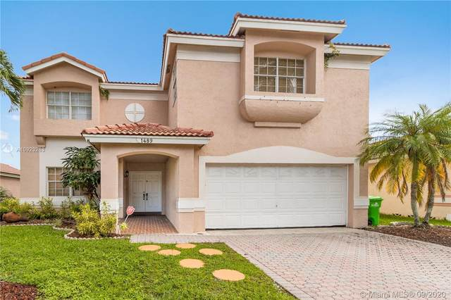 1489 NW 129th Way, Sunrise, FL 33323 (MLS #A10923263) :: The Pearl Realty Group