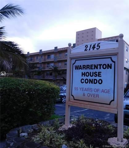 2145 Pierce St #117, Hollywood, FL 33020 (MLS #A10923340) :: KBiscayne Realty