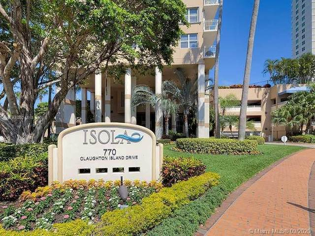 770 Claughton Island Dr #1103, Miami, FL 33131 (MLS #A10924518) :: ONE Sotheby's International Realty