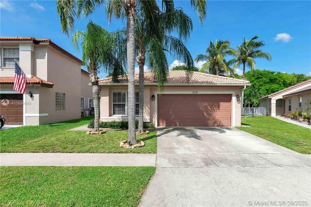 1818 SW 177th Ave, Miramar, FL 33029 (MLS #A10924603) :: Laurie Finkelstein Reader Team