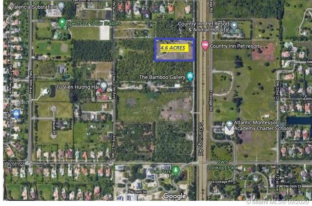 2200 S Flamingo Rd, Davie, FL 33325 (MLS #A10925267) :: Berkshire Hathaway HomeServices EWM Realty