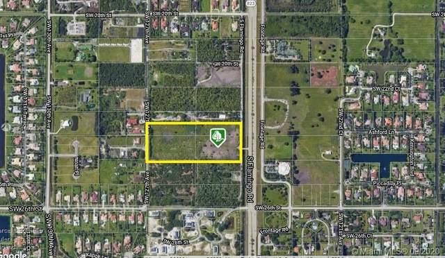 2400 SW Flamingo Rd, Davie, FL 33325 (MLS #A10925308) :: Berkshire Hathaway HomeServices EWM Realty
