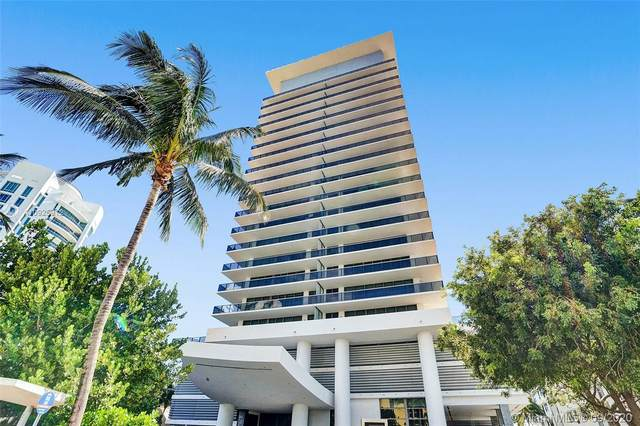 5875 Collins Ave #808, Miami Beach, FL 33140 (MLS #A10925912) :: The Riley Smith Group