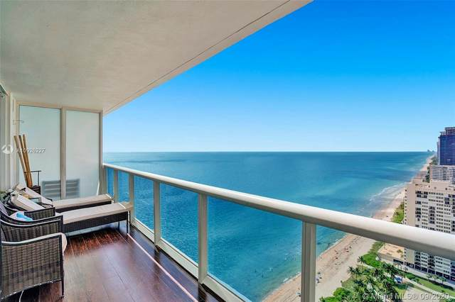 1830 S Ocean Dr #3303, Hallandale Beach, FL 33009 (MLS #A10926227) :: Prestige Realty Group