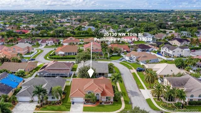 20130 NW 10th St, Pembroke Pines, FL 33029 (MLS #A10926242) :: GK Realty Group LLC