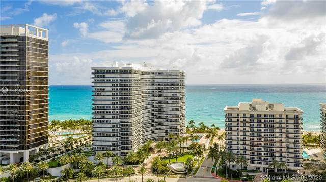 9601 Collins #902, Bal Harbour, FL 33154 (MLS #A10926813) :: Search Broward Real Estate Team