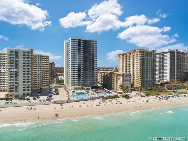 3180 S Ocean Dr #1007, Hallandale Beach, FL 33009 (MLS #A10927246) :: Carole Smith Real Estate Team