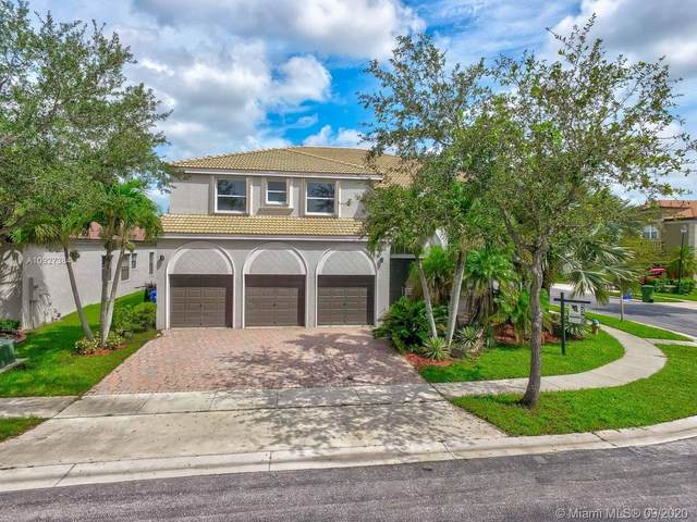 16715 SW 10th St, Pembroke Pines, FL 33027 (MLS #A10927384) :: The Howland Group