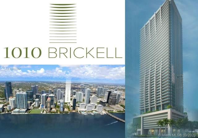 1010 Brickell Ave #4703, Miami, FL 33131 (MLS #A10927392) :: Berkshire Hathaway HomeServices EWM Realty