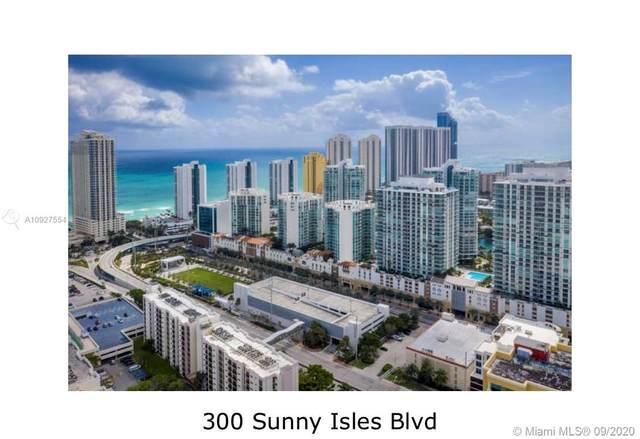 300 Sunny isles Blvd #1201, Sunny Isles Beach, FL 33160 (MLS #A10927554) :: Re/Max PowerPro Realty