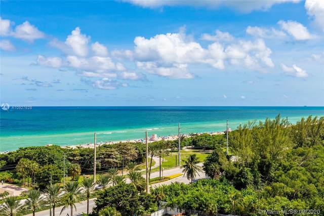100 Bayview Dr #1108, Sunny Isles Beach, FL 33160 (MLS #A10927628) :: Carole Smith Real Estate Team