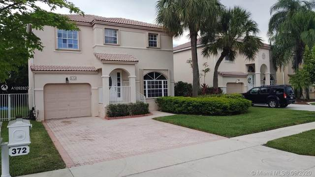372 NW 153rd Ln, Pembroke Pines, FL 33028 (#A10928273) :: Real Estate Authority