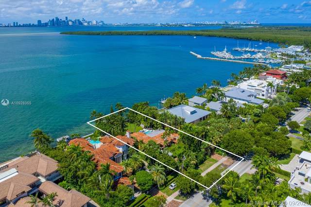290 Harbor Dr, Key Biscayne, FL 33149 (MLS #A10928355) :: The Rose Harris Group