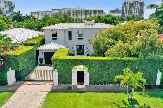 5657 La Gorce Dr, Miami Beach, FL 33140 (MLS #A10929005) :: Albert Garcia Team
