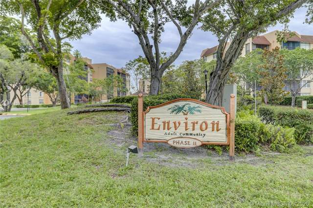 7080 Environ Blvd #121, Lauderhill, FL 33319 (MLS #A10929042) :: Berkshire Hathaway HomeServices EWM Realty