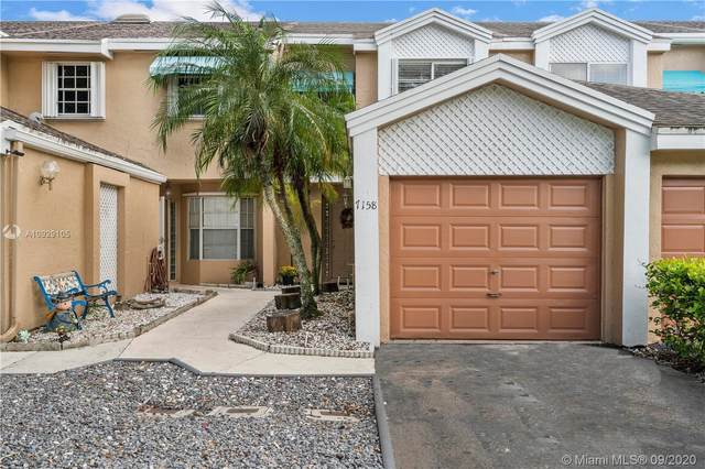 7158 Woodmont Way #7158, Tamarac, FL 33321 (MLS #A10929105) :: Berkshire Hathaway HomeServices EWM Realty