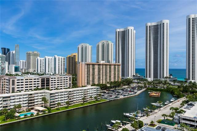 300 Bayview Dr #1509, Sunny Isles Beach, FL 33160 (MLS #A10929271) :: ONE Sotheby's International Realty