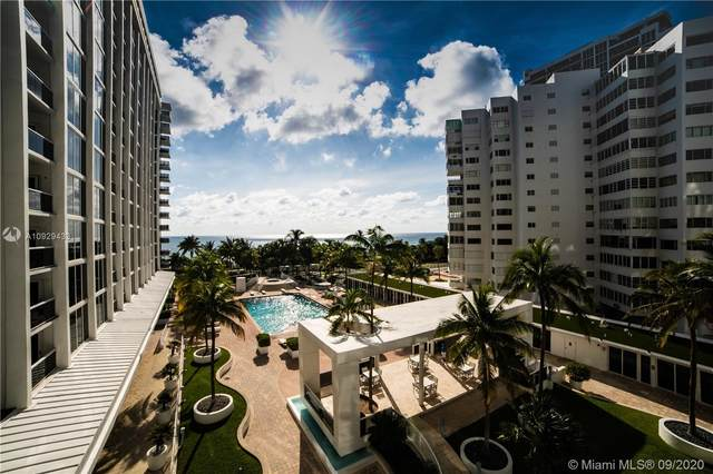 10275 Collins Ave 418 +  CABANA, Bal Harbour, FL 33154 (MLS #A10929433) :: Re/Max PowerPro Realty
