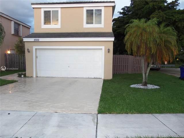 3300 Orinoco Ln, Margate, FL 33063 (MLS #A10929444) :: Re/Max PowerPro Realty