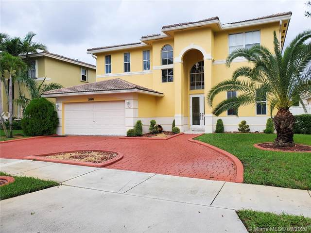 2690 SW 138th Ave, Miramar, FL 33027 (MLS #A10929842) :: Laurie Finkelstein Reader Team