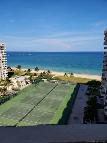 5100 N Ocean Blvd #1412, Lauderdale By The Sea, FL 33308 (MLS #A10930058) :: Albert Garcia Team
