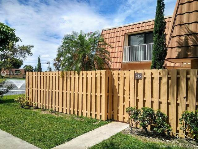 715 Mill Valley Pl #715, West Palm Beach, FL 33409 (MLS #A10930120) :: The Riley Smith Group