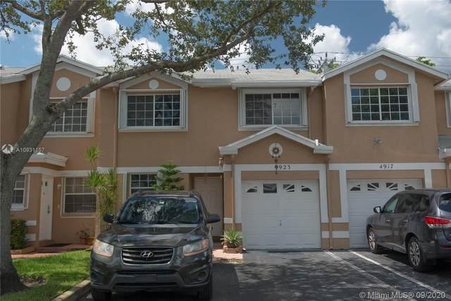 4923 SW 123rd Ter #4923, Cooper City, FL 33330 (MLS #A10931157) :: Green Realty Properties