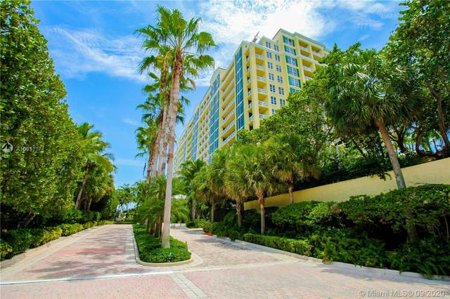 430 Grand Bay Drive #808, Key Biscayne, FL 33149 (MLS #A10931171) :: The Paiz Group