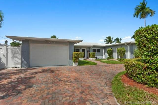 2243 Bayview Ln, North Miami, FL 33181 (MLS #A10931699) :: The Teri Arbogast Team at Keller Williams Partners SW
