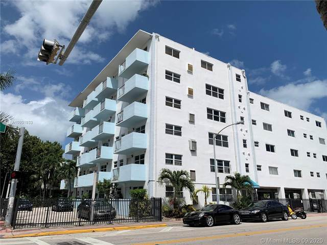 801 Meridian Ave Pha, Miami Beach, FL 33139 (MLS #A10931933) :: Ray De Leon with One Sotheby's International Realty