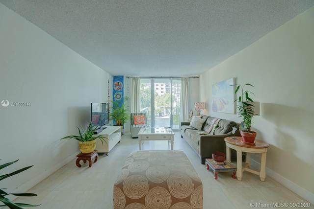 19380 Collins #209, Sunny Isles Beach, FL 33160 (MLS #A10932341) :: Miami Villa Group