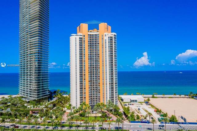 18911 Collins Ave #1607, Sunny Isles Beach, FL 33160 (MLS #A10932483) :: Green Realty Properties