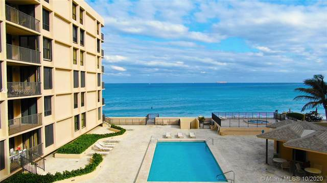 3610 S S Ocean Blvd #403, South Palm Beach, FL 33480 (#A10933030) :: Posh Properties